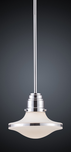 Learn more about ELK Lighting Retrospective One Light Pendant Polished Chrome