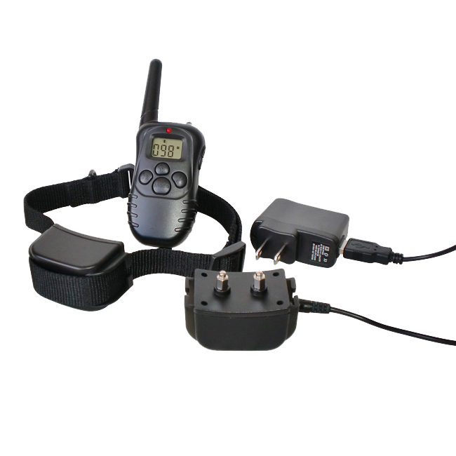 300 Yard Petrainer Rechargeable & Waterproof Remote Training Collar - MK998DR-1D MK998DR-1D
