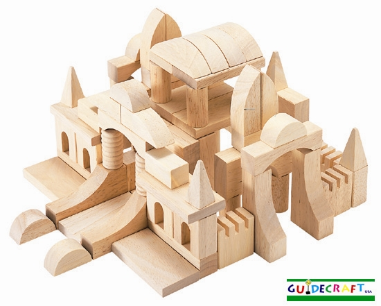 building blocks image. Guidecraft Table Top Building