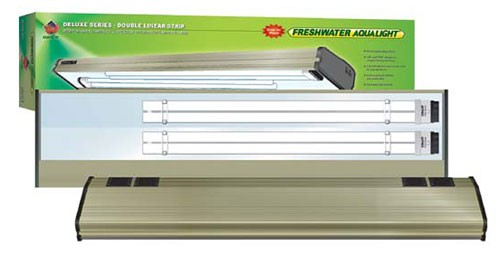 Low-priced Coralife Freshwater Aqualight Double Linear Strip Compact Fluorescent Fixture Watt