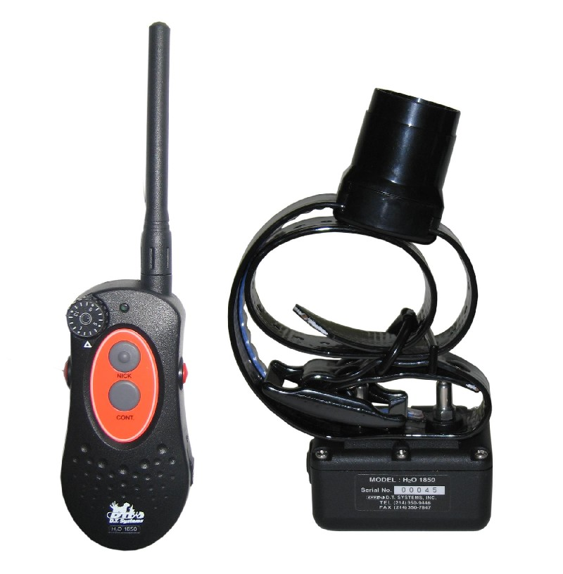D.T. Systems H2O 2 Dog 1 Mile Remote Trainer with Beeper H2O-1852