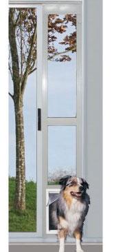 Lovely Ideal Modular Pet Patio Door Mill Finish Small MODPATSM