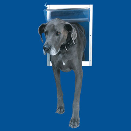 Ideal Pet Door Deluxe White Dog Door Xx-Large