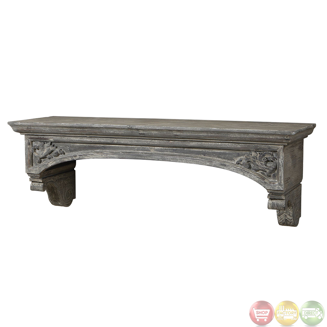 plastic storage shelving lusila gray weathered wood fireplace mantel 24803 ebay 24803